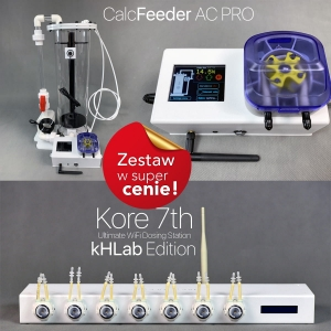 PS kH  Kore 7th Kh Lab +Calcfeeder AC Mini